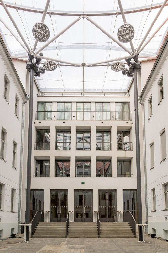 Landesvertretung Sachsen-Anhalt –Innenhof