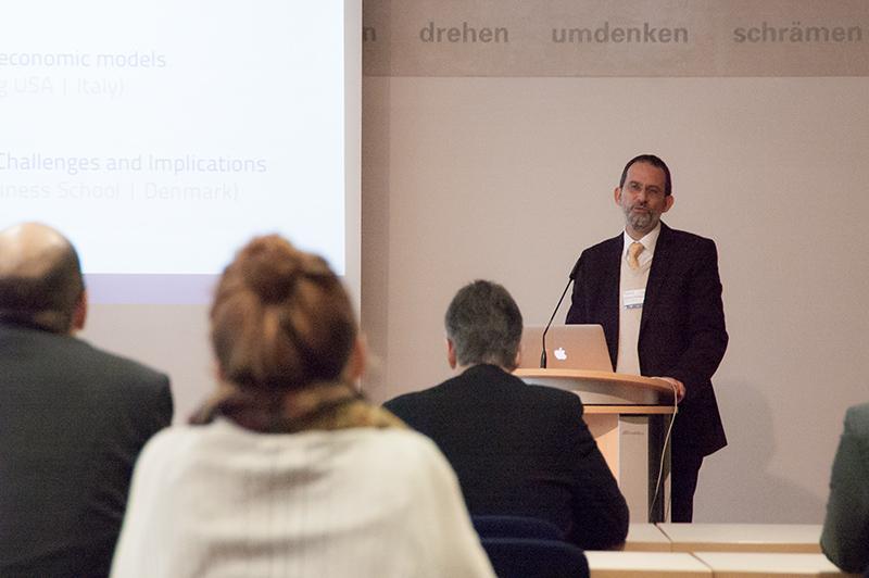 Prof. Dr. Michael Herzog eröffnet die EcoCom 2013