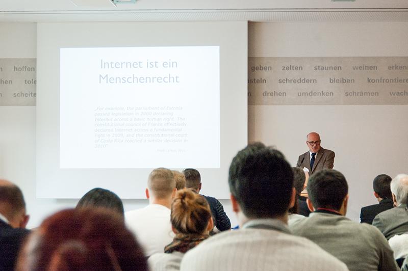 »Internet ist ein Menschenrecht«