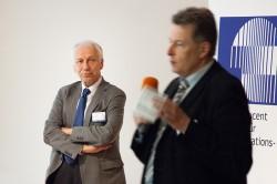 Arnold Picot und Erich Zielinski im Disput