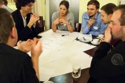 Der »Technologien & Gadgets« Tisch, moderiert von Ontje Helmich