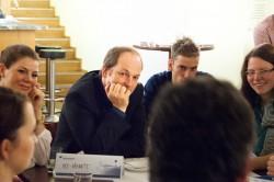 Intensiver Austausch im WorldCafé
