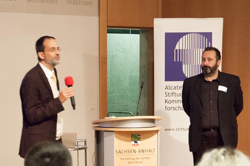 Fragen und Antworten zur mitreissenden Abschlusskeynote »Bridge: ICT for Connecting Knowledge and Knowing« von Dr. Viktor Dörfler von der University of Strathclyde