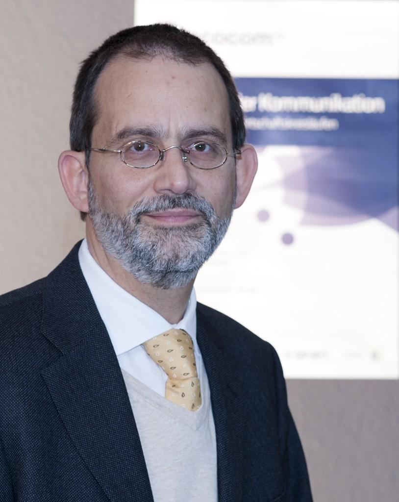 Prof. Dr. Michael A. Herzog. Initiator und Leiter der EcoCom (Pressefoto, hohe Auflösung)