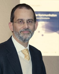 Prof. Dr. Michael A. Herzog, Initiator und Leiter der EcoCom. (Pressefoto, hohe Auflösung)